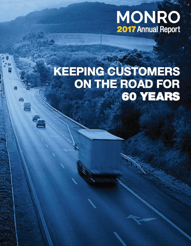 Cover of Fiscal 2017 Annual Report