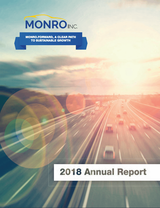 Cover of Fiscal 2018 Annual Report
